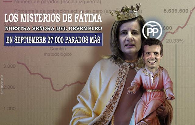 Fátima Bañez ministra de desempleo
