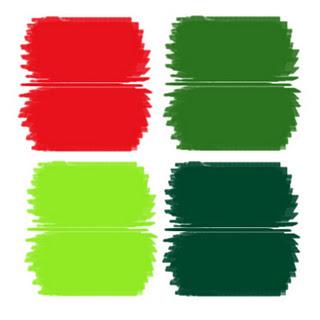 navidad moderna una nueva alternativa a los colores navideos diferentes verdes con un rojo har que todo salte el doble