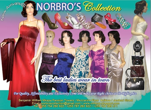 NORBRO'S COLLECTIONS Ladies and Gents Wear