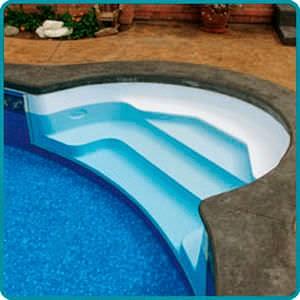 Vinyl Liner Inground Pools Step Options General