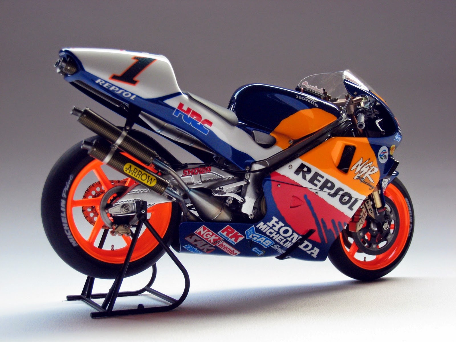 Racing Scale Models Honda Nsr 500 M Doohan 1998 By Luyan Wen