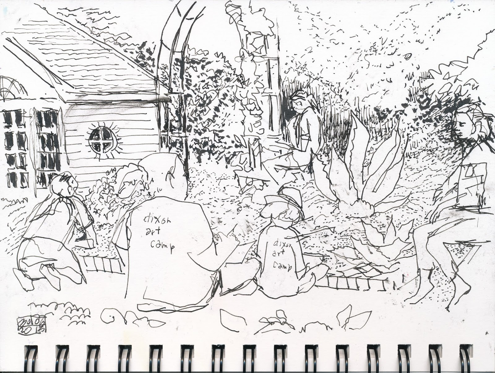 Line Art Studio Serpong : Urban sketchers memphis sketching at the dixon in