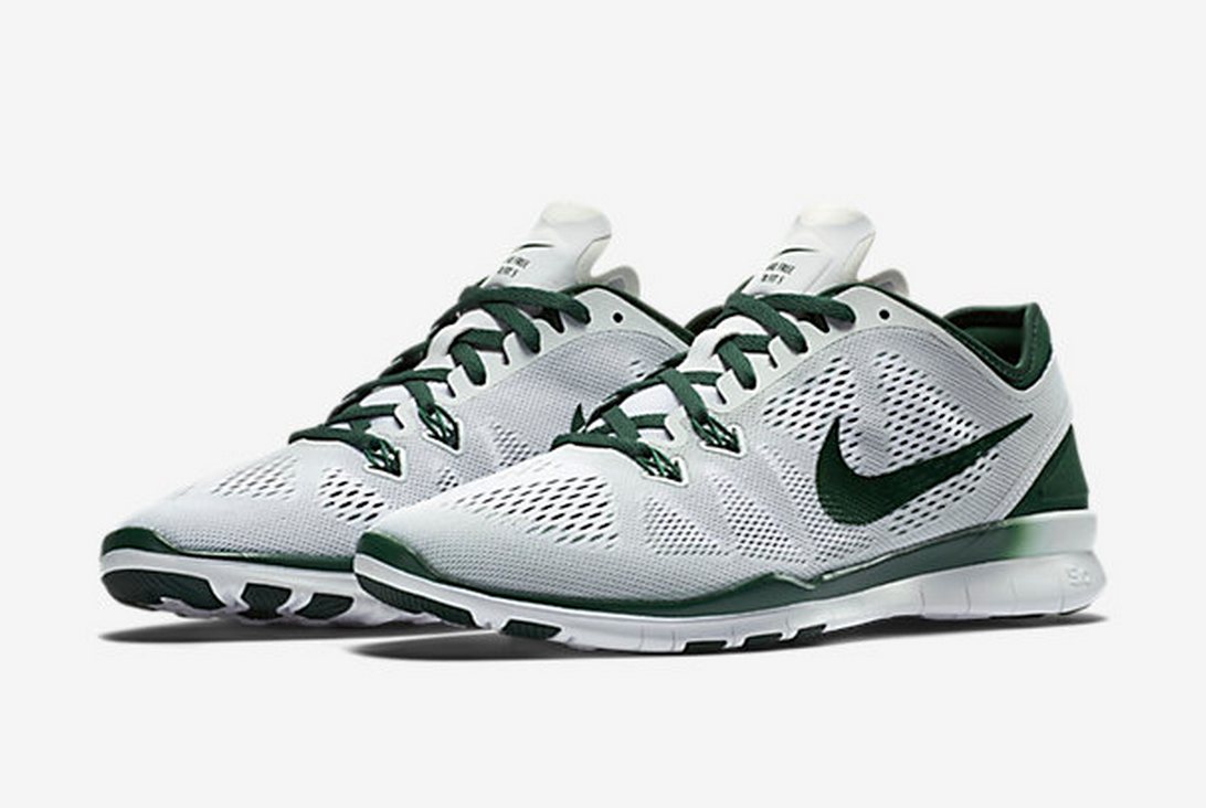 ... Nike Free TR 5 in white/gorge green. I was actually checking these shoes  out a while ago when they were full price! I ended up getting them for only  $60 ...