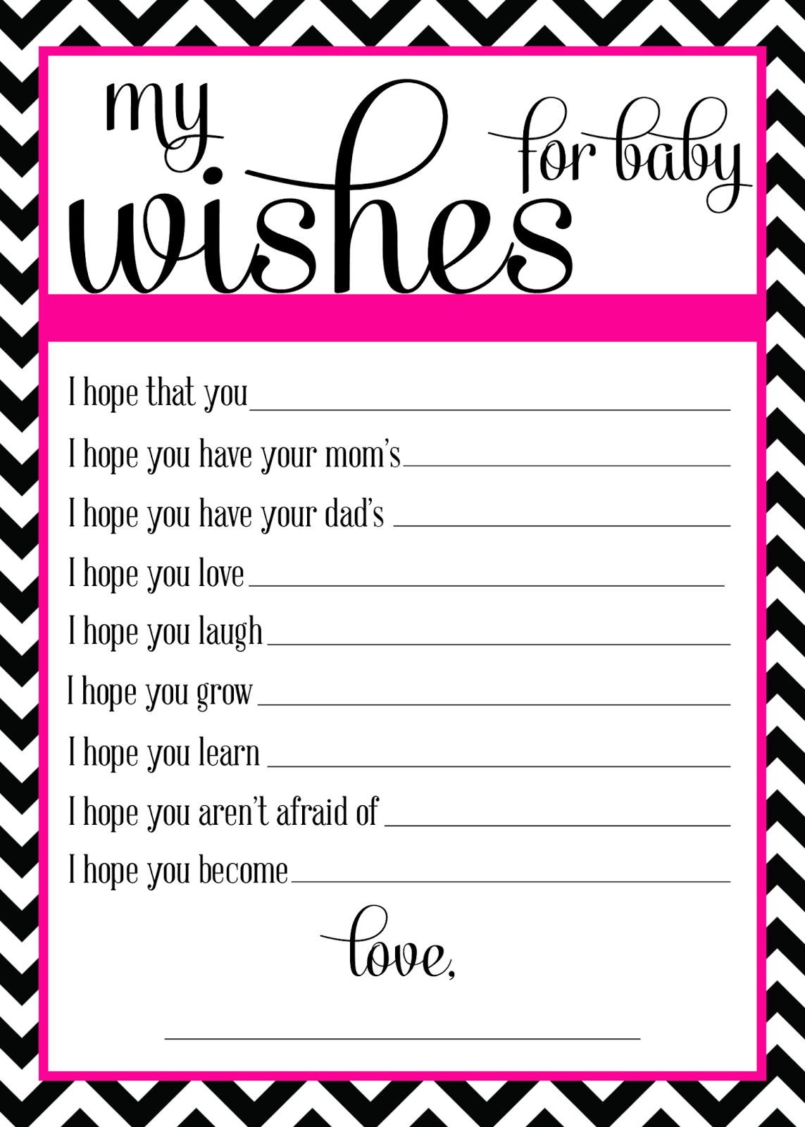Sugar Queens Wishes For Baby