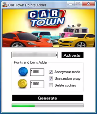 Car Town Hack Tool v.3.0 - Android Oyun Hileleri