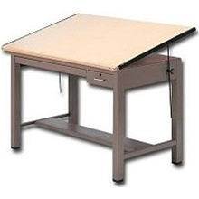Drafting Table with Metal Legs