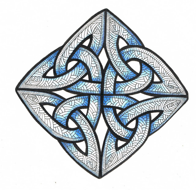 Below are some Celtic Knots I have decorated just to get you in the ...