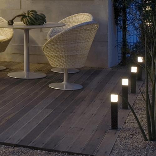 Iluminação de Jardim  Balizadores  Designmodelo