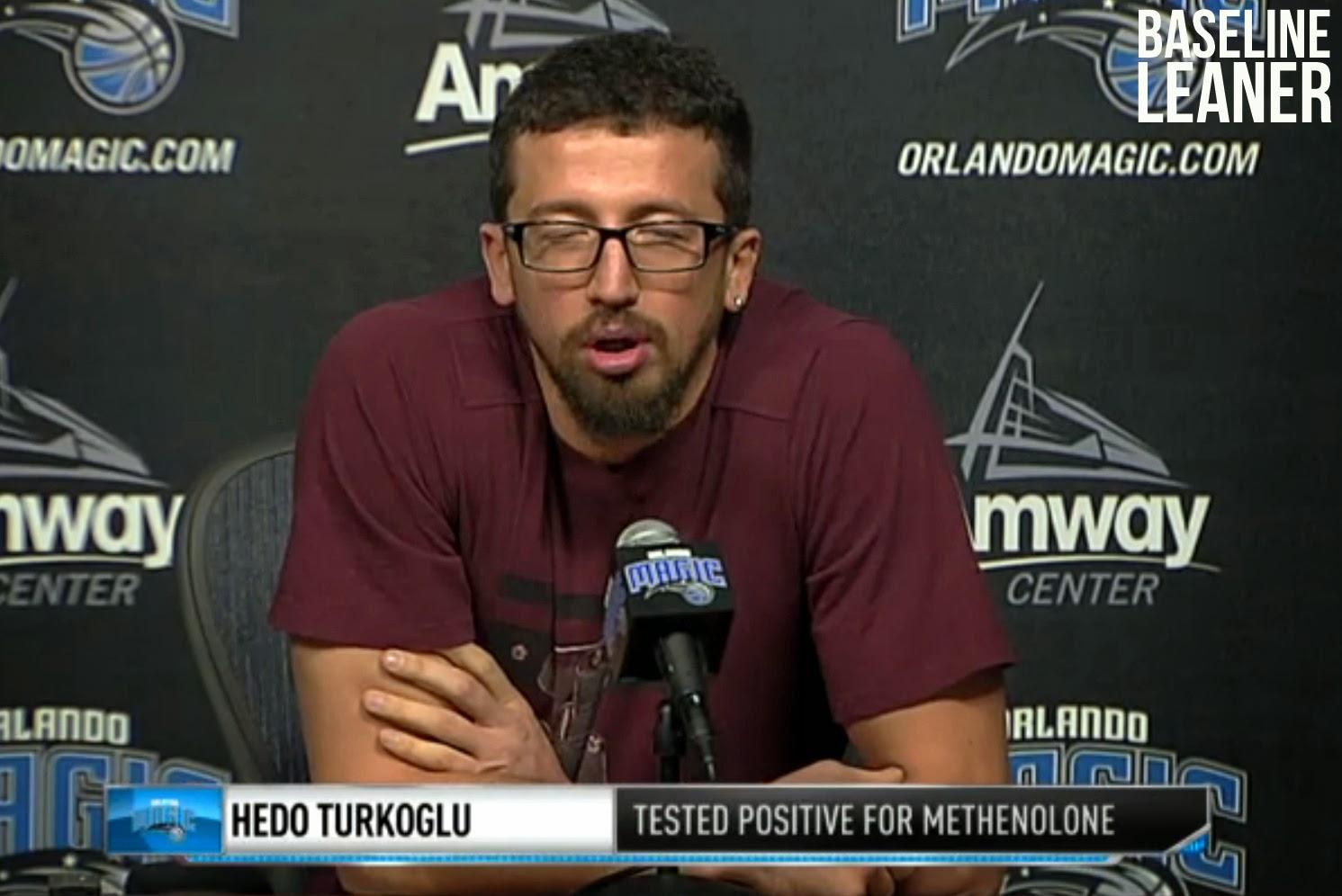 """Baseline Leaner Jersey of the Week Hedo Turkoglu """"Ball"""" Jersey"""