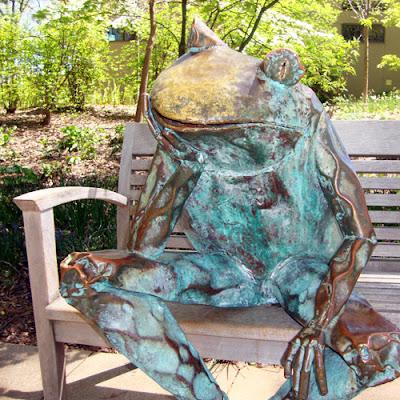 Frog at the Atlanta Botanical Garden