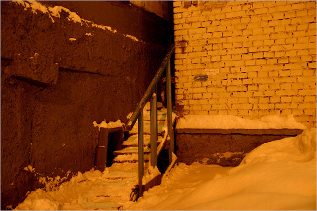 Красноярский край, Таймырский полуостров, город Норильск. Фото.
