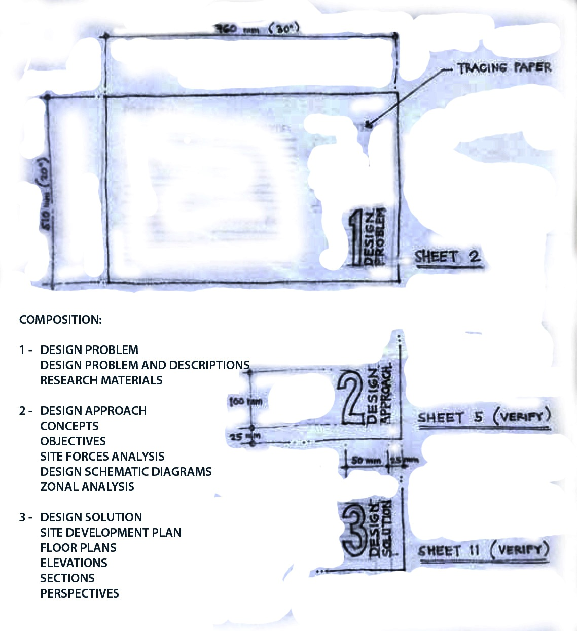 Architecture Design Sheet Format academy of architecture: architectural design format