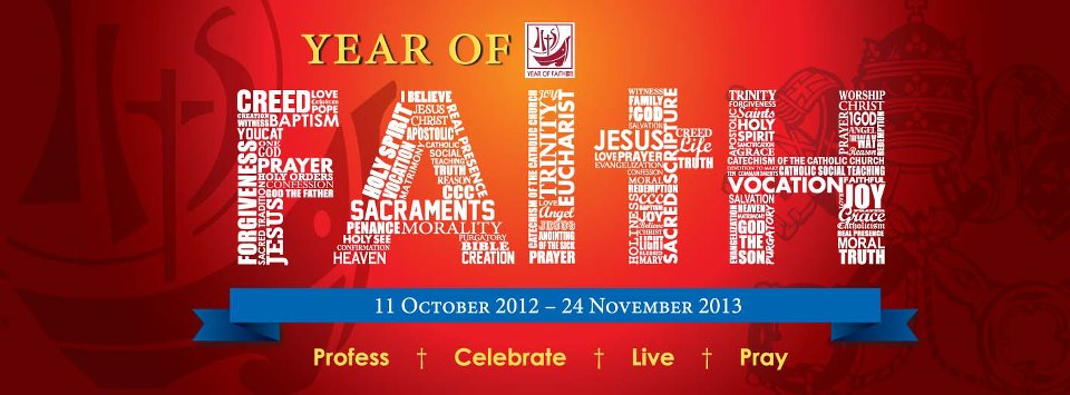 Celebrating the Year of Faith