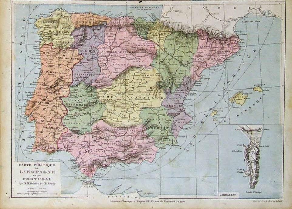 Castilla la Vieja y Castilla la Nueva 1882