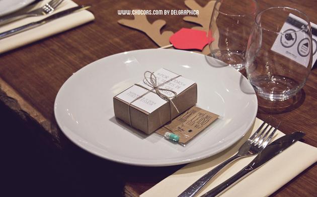cena empresa decoración mesa