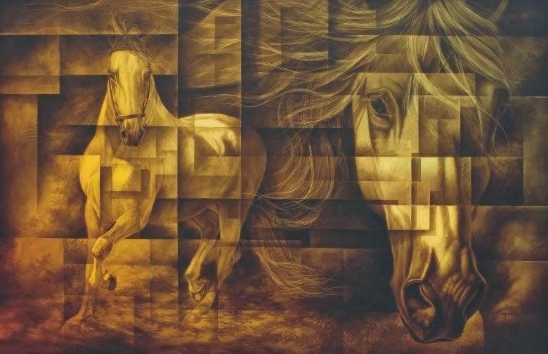 Cuadros modernos pinturas y dibujos surrealismo con - Cuadros minimalistas modernos lo ultimo arte ...