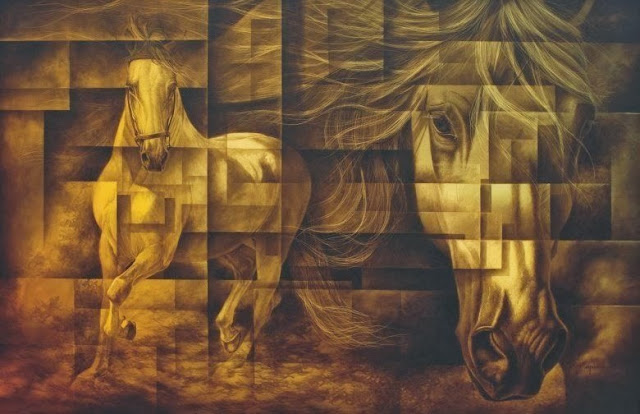 surrealismo-caballos