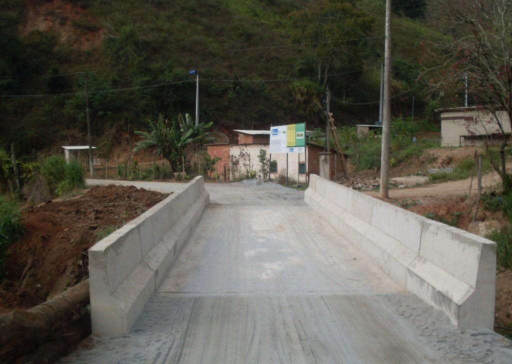 Foto Ponte dos Prates depois: A ponte dos Prates já está liberada para o tráfego de veículos