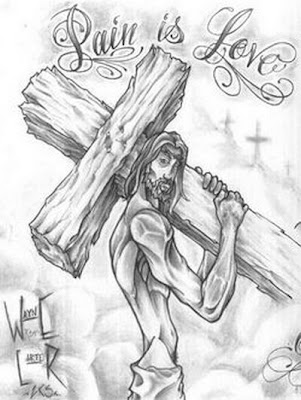 Jesus Tattoos Design
