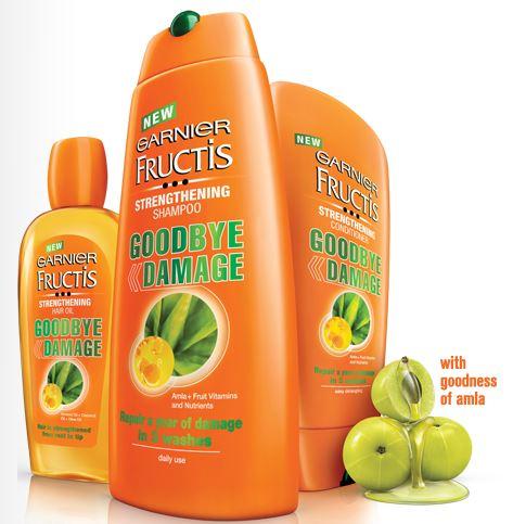 Free Sample of Garnier Fructis Shampoo