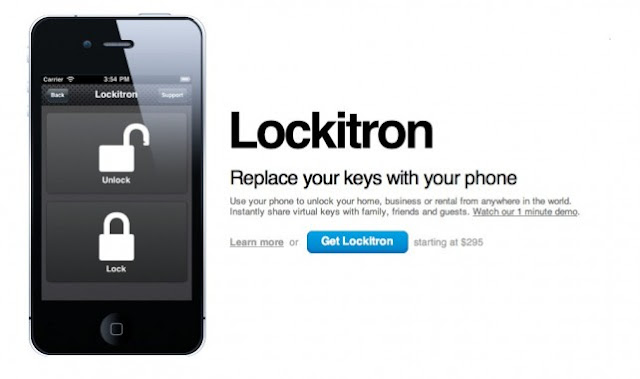 Unlock your Front Door with your iPhone