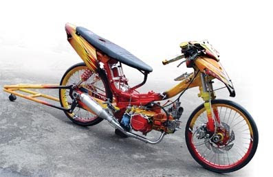 motor supra x modifikasi