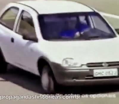 Primeira propaganda do Corsa (Chevrolet), em 1994.