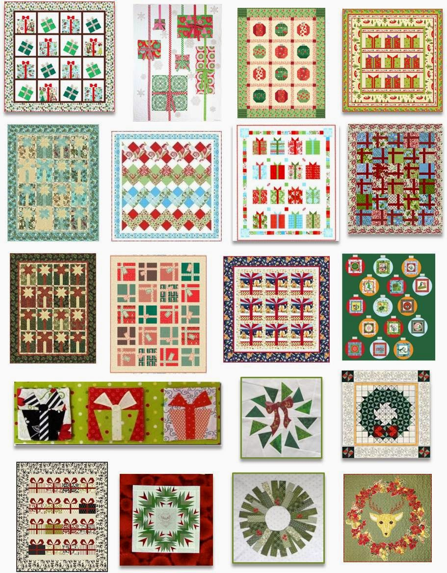 Quilt Inspiration: Free pattern day! Christmas: Part 2