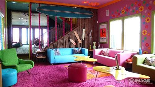 kombinasi warna interior rumah minimalis modern