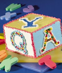 alphabet cakes images