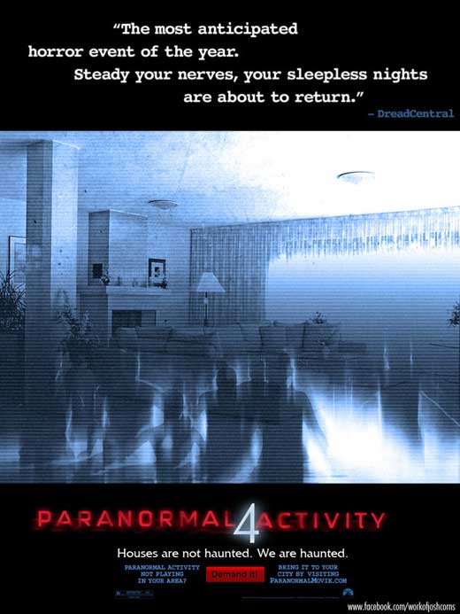 Paranormal Activity 4 2012 movie