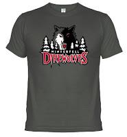 Camiseta direwolves lobos huargo - Juego de Tronos en los siete reinos