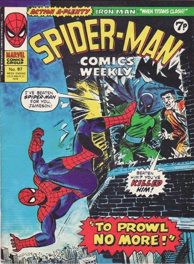 Spider-Man Comics Weekly #97, the Prowler