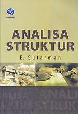 toko buku rahma: buku ANALISA STRUKTUR, pengarang sutarman, penerbit andi