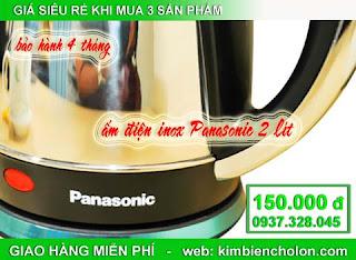 Ấm đun nước Panasonic 2L