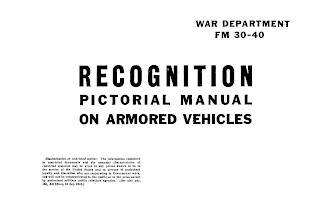 Recognition Pictorial Manual On Armoured Vehicles, 3 November 1943
