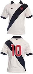 Camisa Retrô do Vasco da Gama 1956/1958.