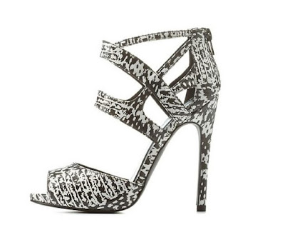 Qupid high heeled stiletto sandals