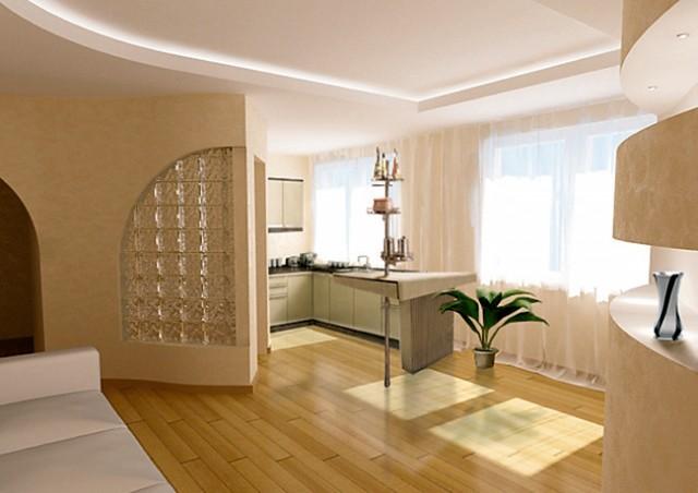 Дизайн однокомнатной квартиры-хрущевки 30 кв м: фото