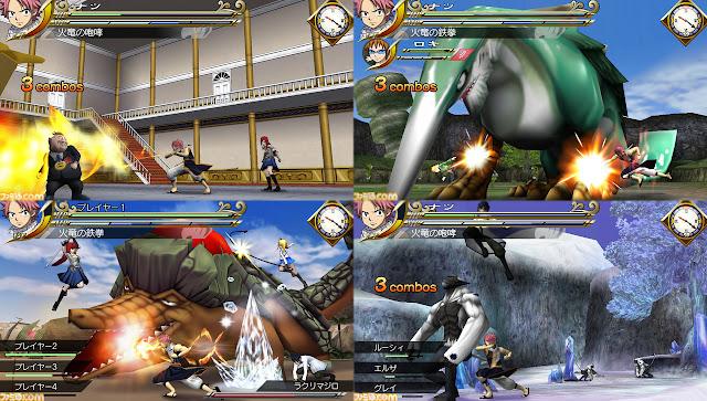 Fairy Tail Portable Guild [PSP]