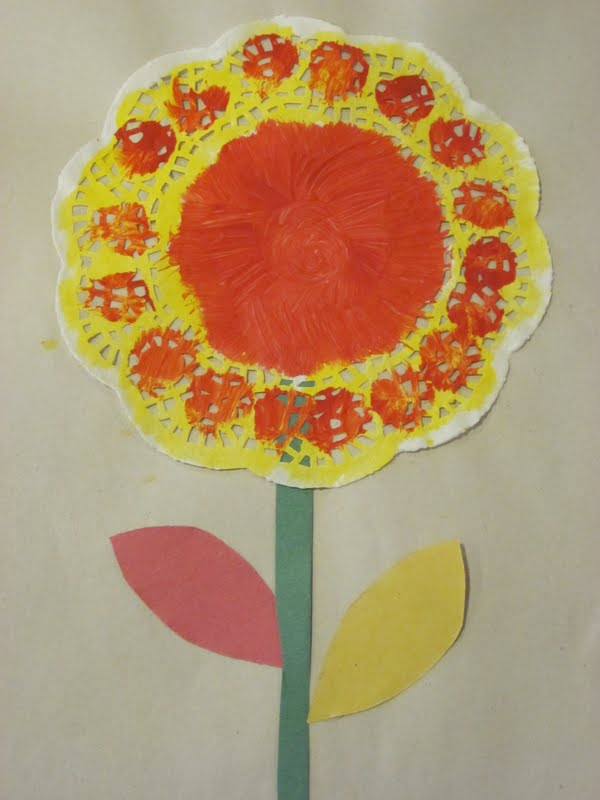 Construction Paper Flowers For Kids Katy Perry Buzz