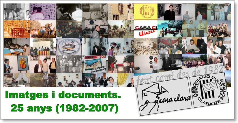 25 anys, imatges i documents.
