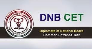 DNB CET 2015 Notification for PG Diploma Course