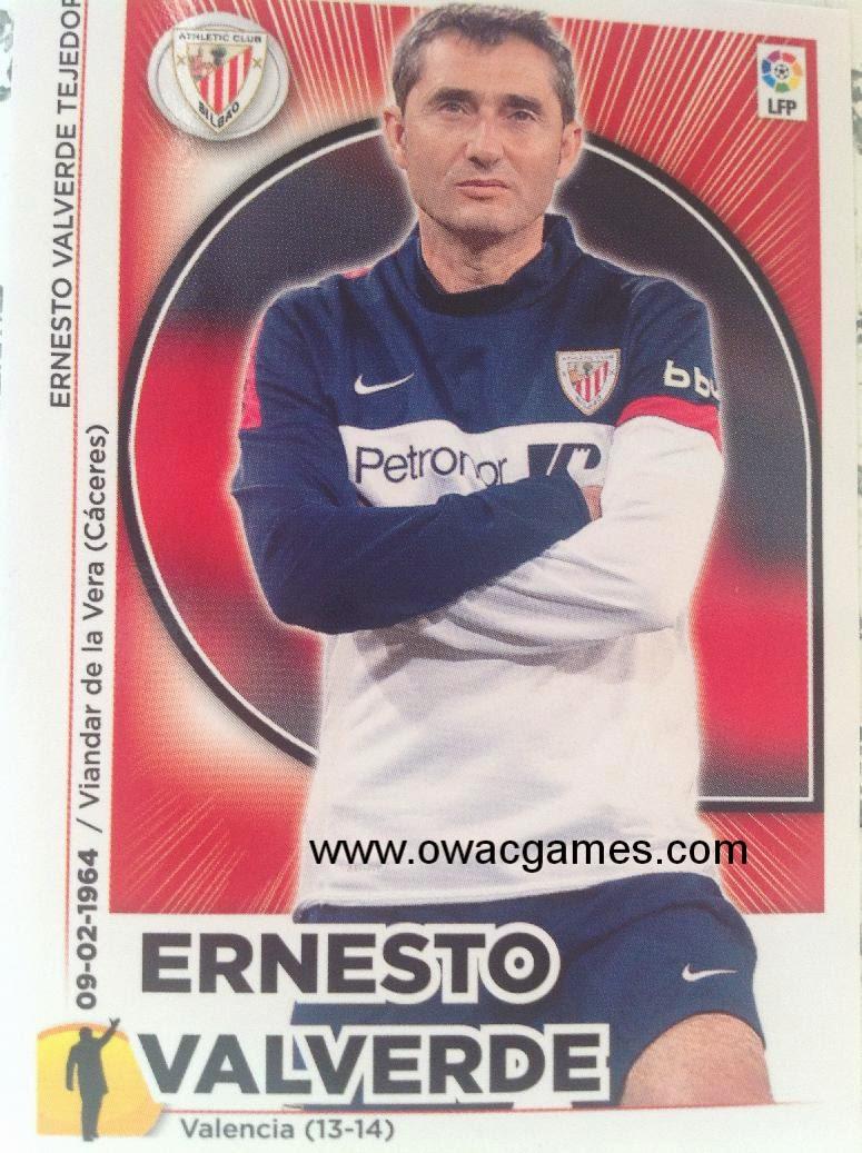 Liga ESTE 2014-15  entrenador Valverde