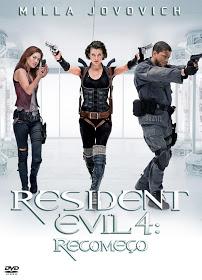 Filme Resident Evil 4 Recomeço Dublado AVI DVDRip