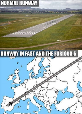 longest airport runway on fast and furious 6