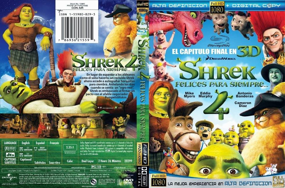 Amazon.com: Shrek Forever After (Single-Disc Edition): Mike Myers ...