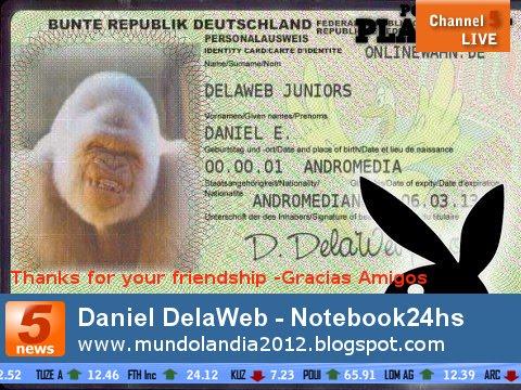 """"""" MUNDOLANDIA 2012"""""" NEW BLOG"