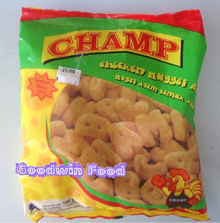 Goodwin Food: Champ Nuget & Sosis