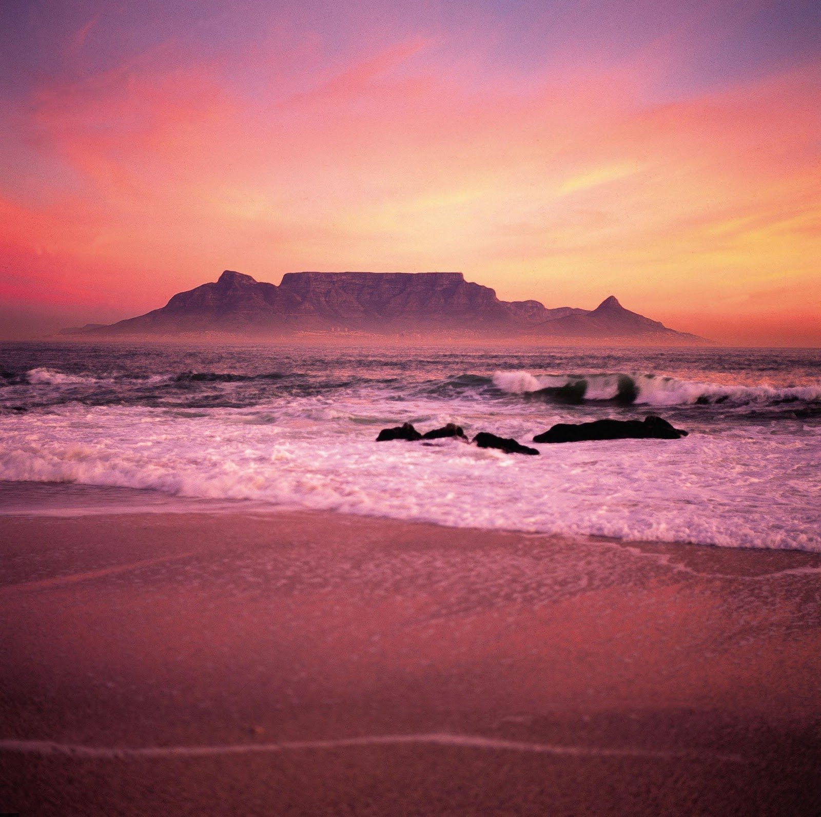 South africa table mountain the landmark of cape for Table mountain
